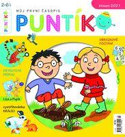 časopis Puntík – březen 2021 – ilustrace Venduly Hegerové